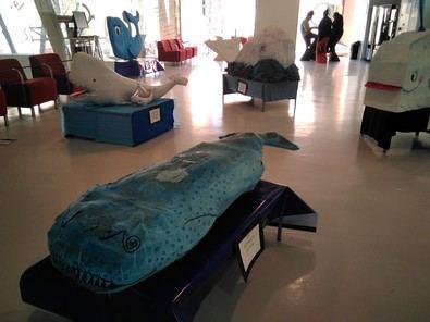 Exposición de ballenas en homenaje a Moby Dick