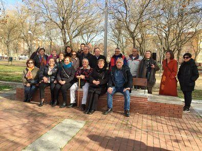 Los mayores 'mandan': la plaza Roja, remodelada