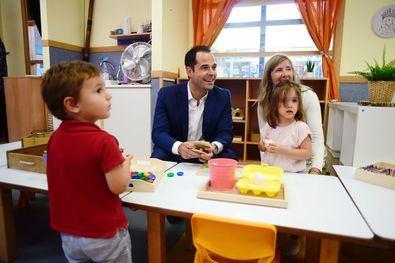 Compromiso de Aguado con la educación pública gratuita