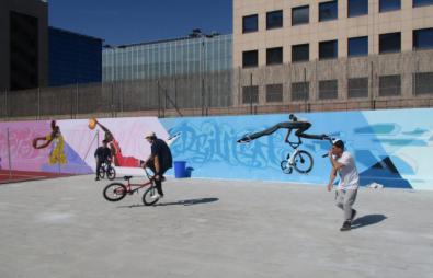 Skate y BMX, nuevas opciones en Condesa de Venadito