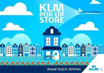 KLM abre una Pop Up store en Madrid