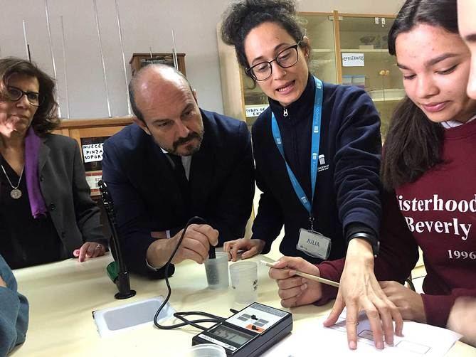 Programa para fomentar la importancia del agua entre los estudiantes de la región