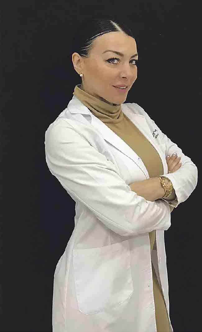 Jezzabel Cruzado, fundadora y gerente de Ladymagen uno de los mejores centros de micropigmentacion y microblading, referentes en maquillaje permanente para pacientes de oncología.
