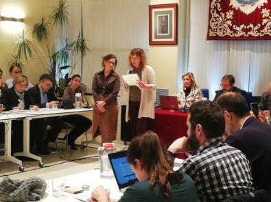 La Junta de Hortaleza apoya unánimemente una declaración contra el odio