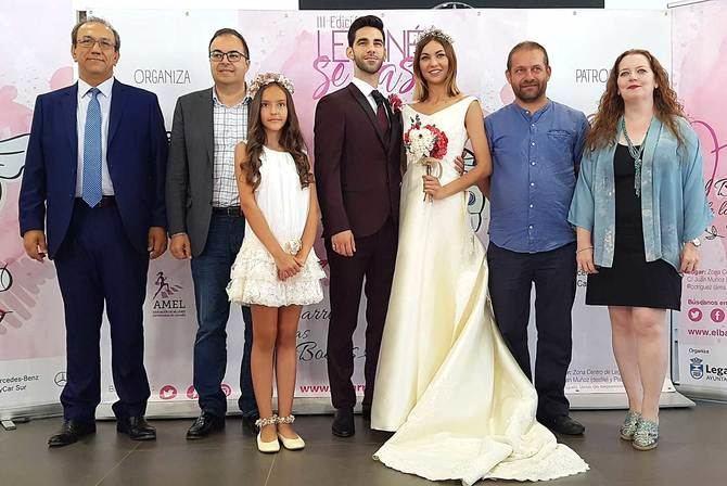 Presentación de la tercera edición de la Feria 'Leganés se casa', con las autoridades locales y representantes del mundo empresarial.
