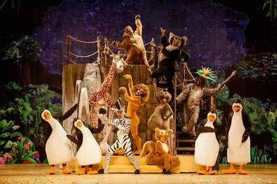 'Madagascar': un espectáculo para toda la familia