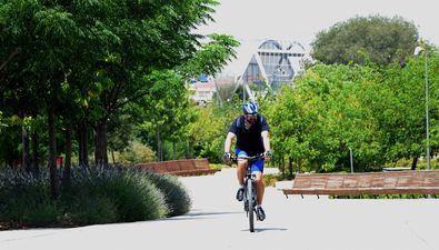 Madrid Río echa a sus ciclistas