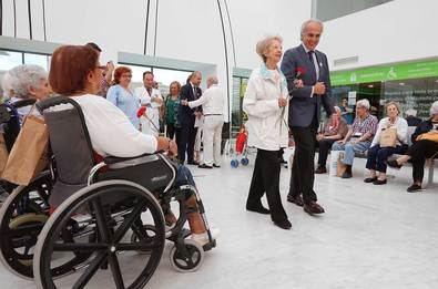 Día de las Personas de Edad, en el Hospital Puerta de Hierro