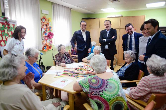 """Aguado: """"Queremos que las residencias sean hogares para nuestros mayores"""""""