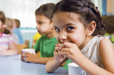 Menús escolares, sanos y naturales