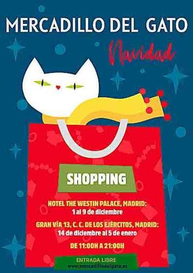 El Mercadillo del Gato estará en Navidad en dos localizaciones exclusivas en la capital