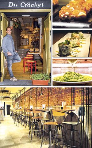 Dr.Crocket Gourmet, un lugar que invita a entrar