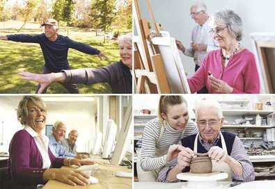 Promoción del envejecimiento activo en los centros de mayores