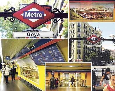 Coger el metro con arte...