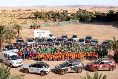 XV Edición de 'El Desierto de los Niños' de Hyundai