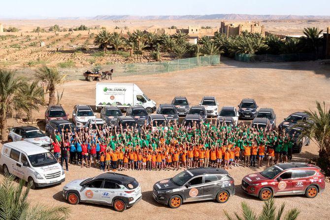 Hyundai Motor España ha apoyado esta aventura solidaria en las quince ediciones celebradas.