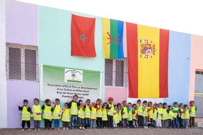 Este año han asistido al viaje-solidario 207 personas, de las cuales 66 eran niños menores de 14 años, lo que representa un record histórico de participación.