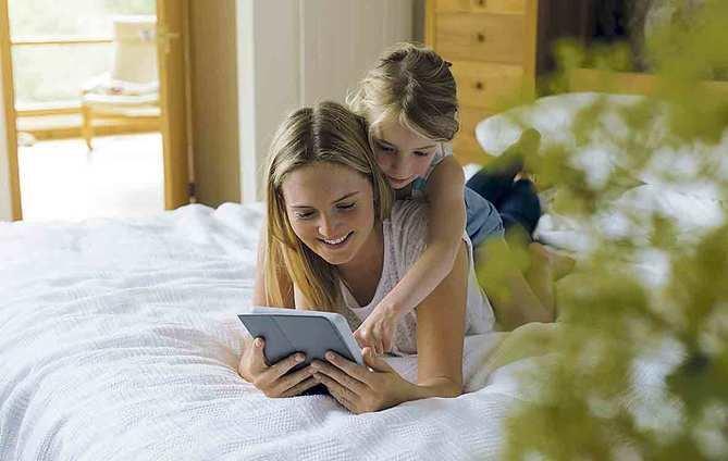 'Apps', padres 'millennials' e hijos