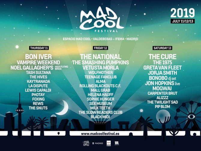 Mad Cool vuelve con menos espectadores