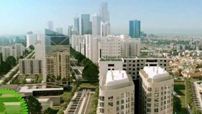 El proyecto contempla la construcción 10.485 viviendas, además de cerca de 1,5 millones de metros cuadrados de oficinas y otros 103.119 metros cuadrados de uso comercial.