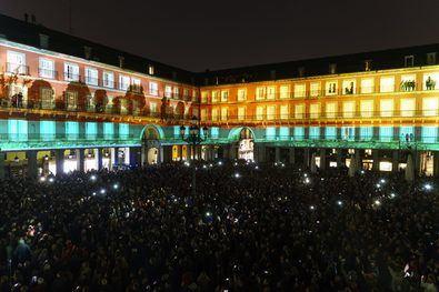La Plaza Mayor vuelve a 'reinar' en Madrid