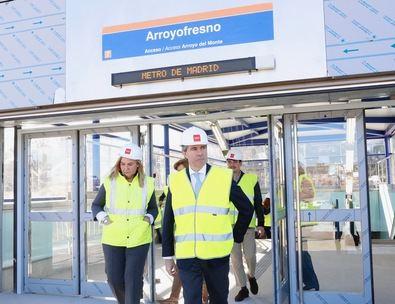 El Metro llega a Arroyofresno