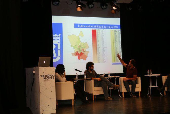 Nacho Murgui participó en unas jornadas sobre descentralización.