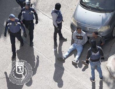 Siete detenidos por tráfico de drogas en Hortaleza
