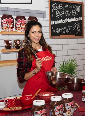 Melissa Jiménez ha sido la embajadora este año del taller de Nutella.