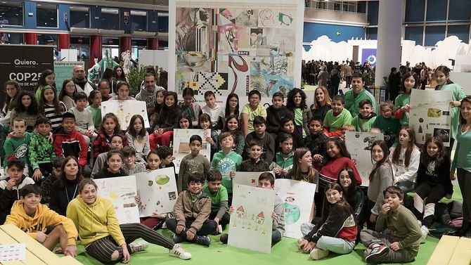 Quiero acerca los ODS y el cambio climático a estudiantes de Primaria en la COP25