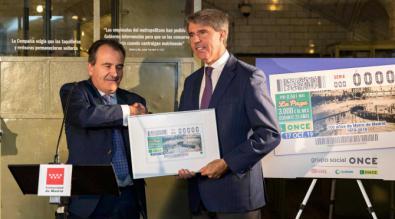 Apuesta de Metro por la accesibilidad en la presentación del cupón del Centenario