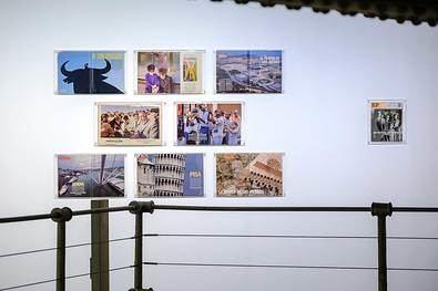 Sala Canal de Isabel II. Exposición de Ontañón.