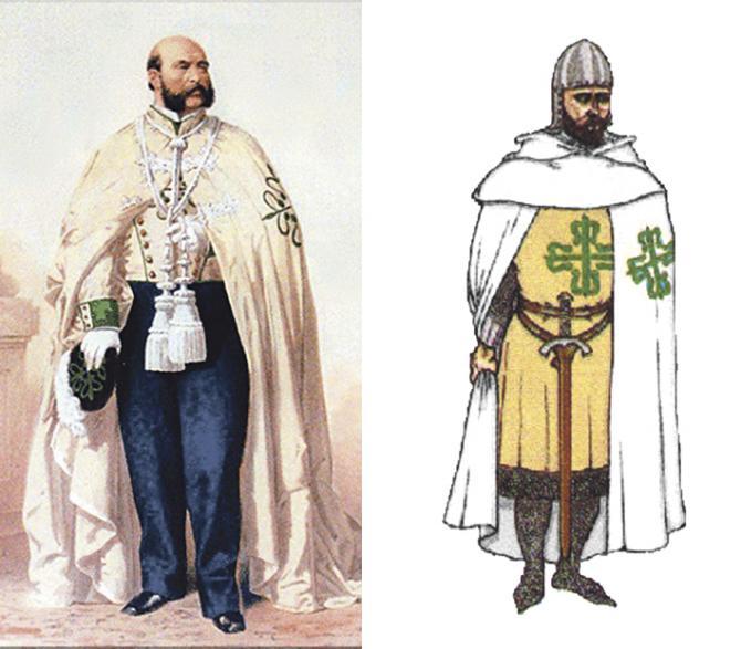 La de Alcántara es una de las cuatro grandes Órdenes militares españolas, solo con carácter honorífico en la actualidad