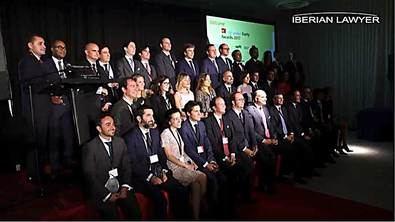 Premios Iberian Lawyer '40 under forty' 2019