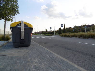 Cibeles votó no al cambio de contenedores