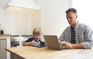 El 85% de los padres que trabajan prefieren el trabajo flexible