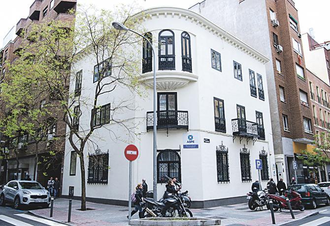 En el número 20 de la calle de Alcántara se encuentra la sede de la Alianza  de la  Sanidad Privada Española es la patronal de la sanidad privada.