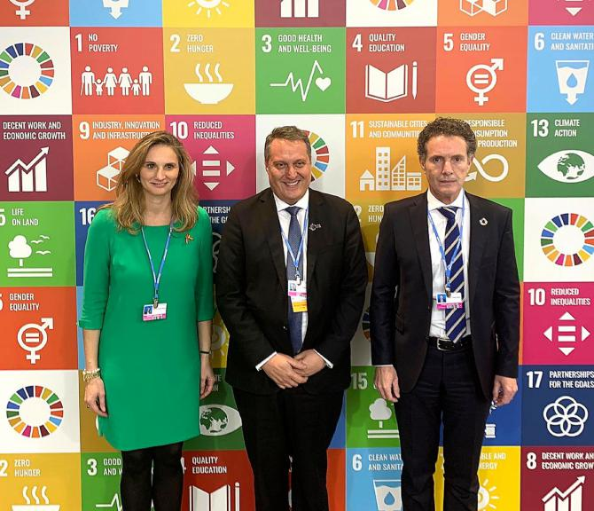 La Comunidad lleva a la COP25 su compromiso con el desarrollo sostenible y el medio ambiente