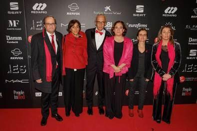 La Fundación Lucha contra el SIDA y su embajador, Jesús Vázquez, celebraron la gala People in Red