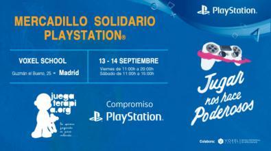 PlayStation, mercadillo y puja solidarios este 'finde'
