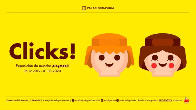 Los Clicks! toman el Palacio de Gaviria