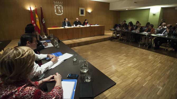 Imagen de archivo del Pleno de Salamanca.