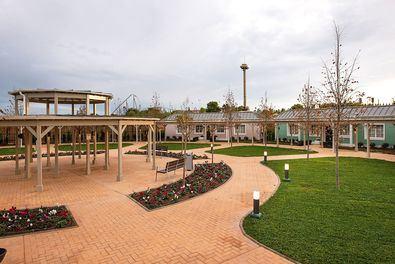 En la imagen, las instalaciones de PortAventura Dreams, foto del interior, Village.