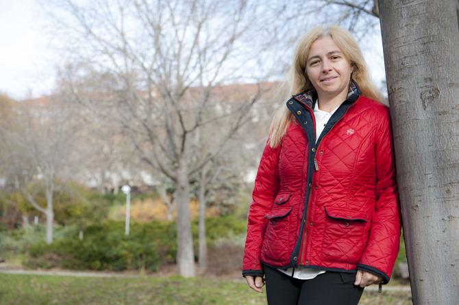 Inmaculada Sanz, presidenta del PP del distrito y concejala.