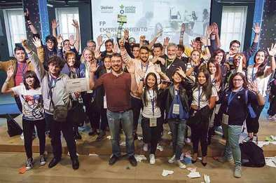 Premiados tres prototipos de empresa social de alumnos de FP