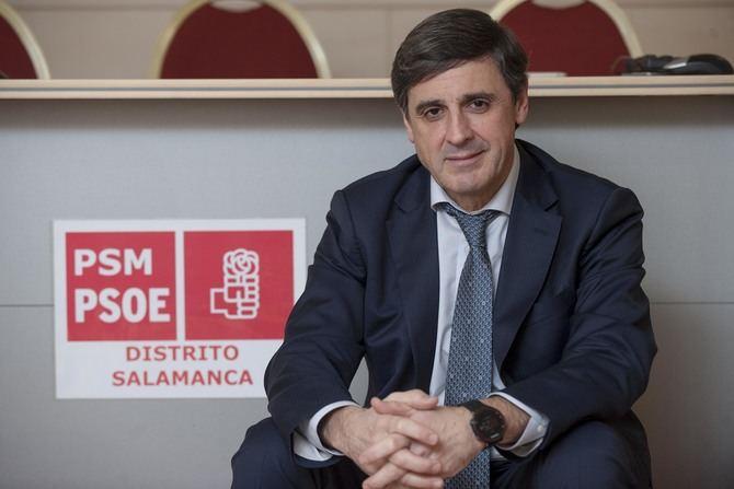 Enrique Martínez es el nuevo Secretario General de la Agrupación Socialista del Distrito de Salamanca.