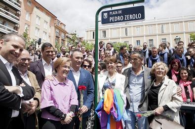 Paralizada la reforma de la plaza de Pedro Zerolo