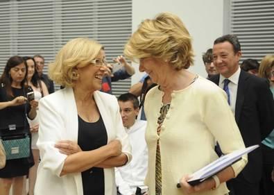 Esperanza Aguirre seguirá siendo la portavoz del grupo municipal del Partido Popular en el Ayuntamiento de Madrid.