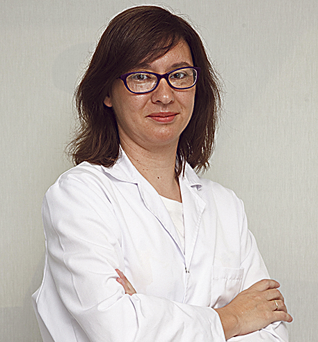 En la imagen, la Dra. Vanesa Núñez.