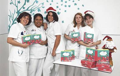 Cuentos para los niños ingresados en Navidad, en el Quirónsalud San José